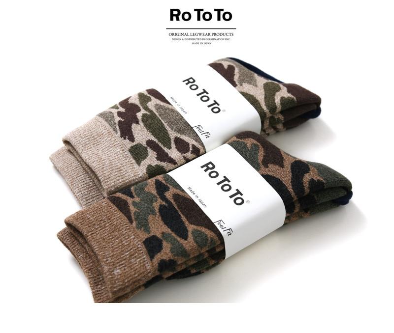 RoToTo ロトト 靴下 カモ ソックス R1032