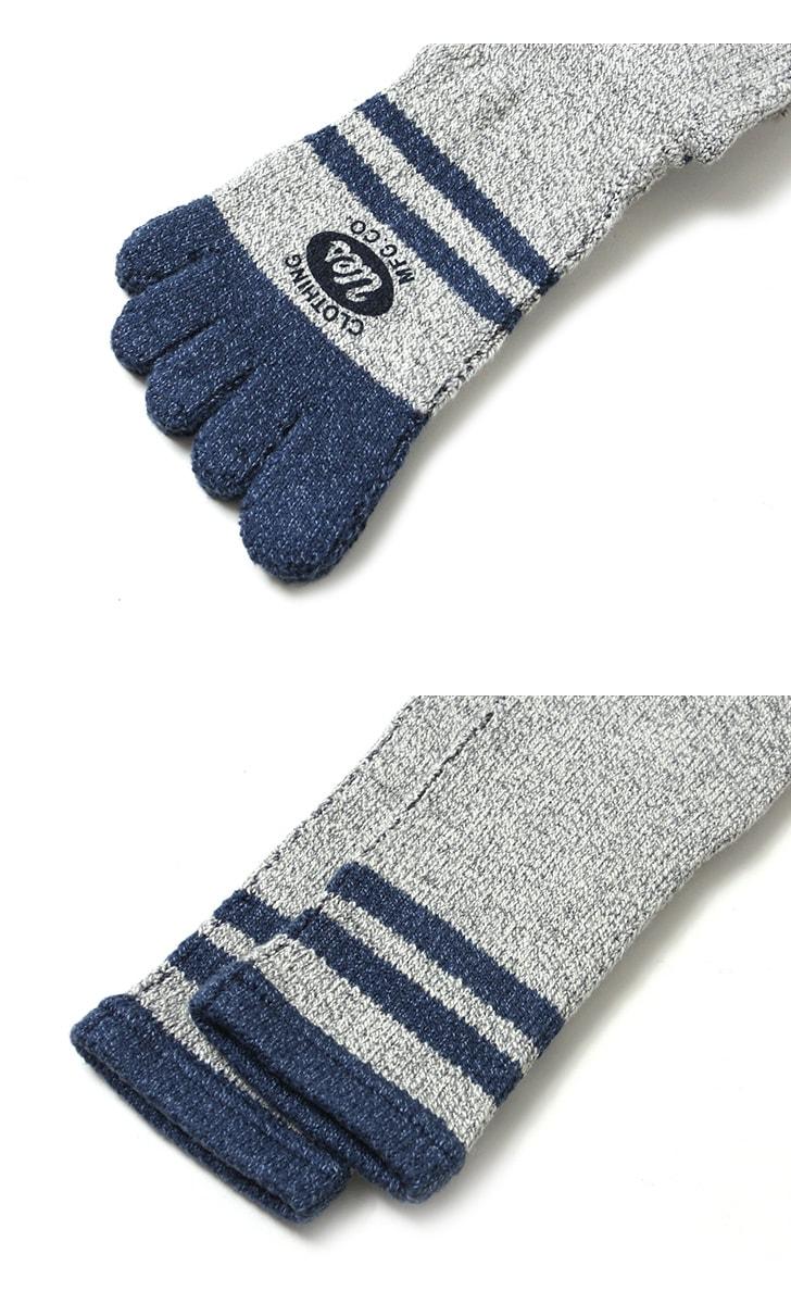 UES ウエス 5本指ハイソックス 靴下 5SX-H