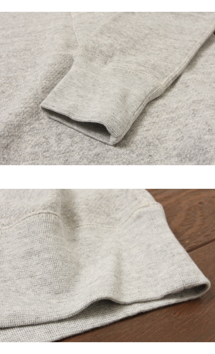 FilMelange フィルメランジェ BYRD3 バード3 ポケット付き スウェット