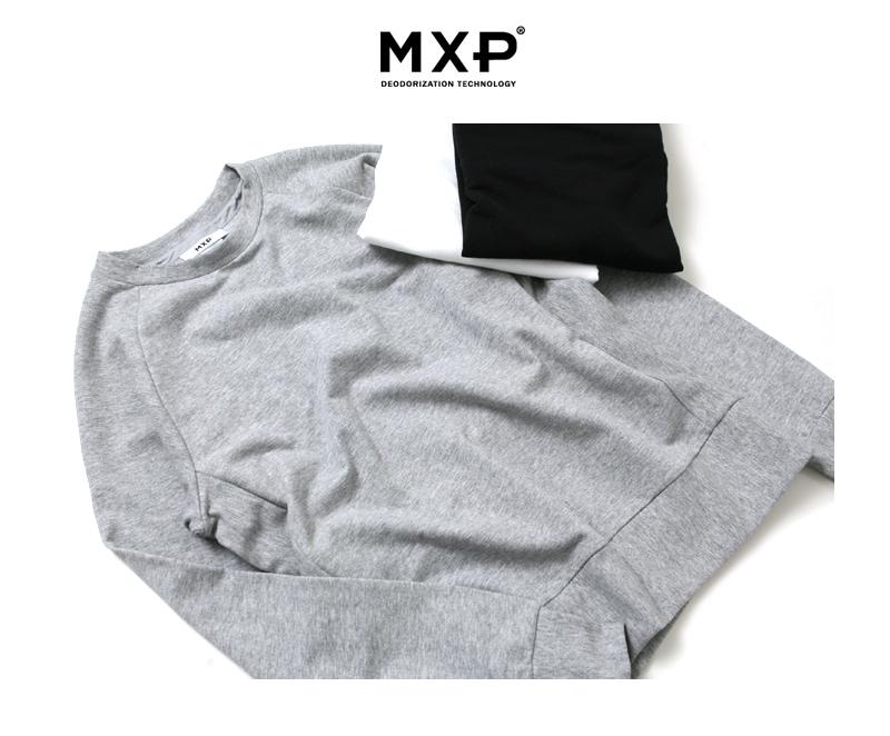 MXP エムエックスピー ゴールドウィン ロングスリーブ クルーネック スウェット メンズ MX36321