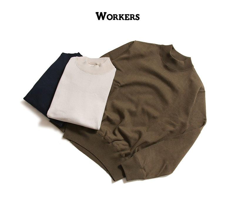 WORKERS USN Cotton Sweater ワーカーズ USNコットンセーター
