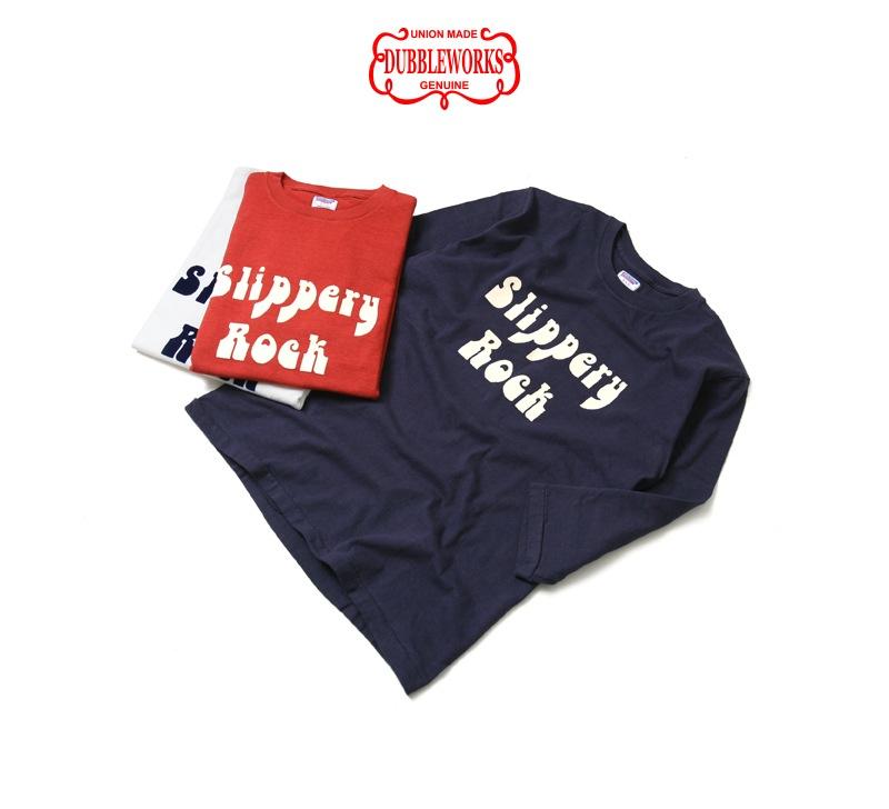 ダブルワークス 7分袖プリントTシャツ DUBBLEWORKS 53002 [SLIPPERY ROCK]