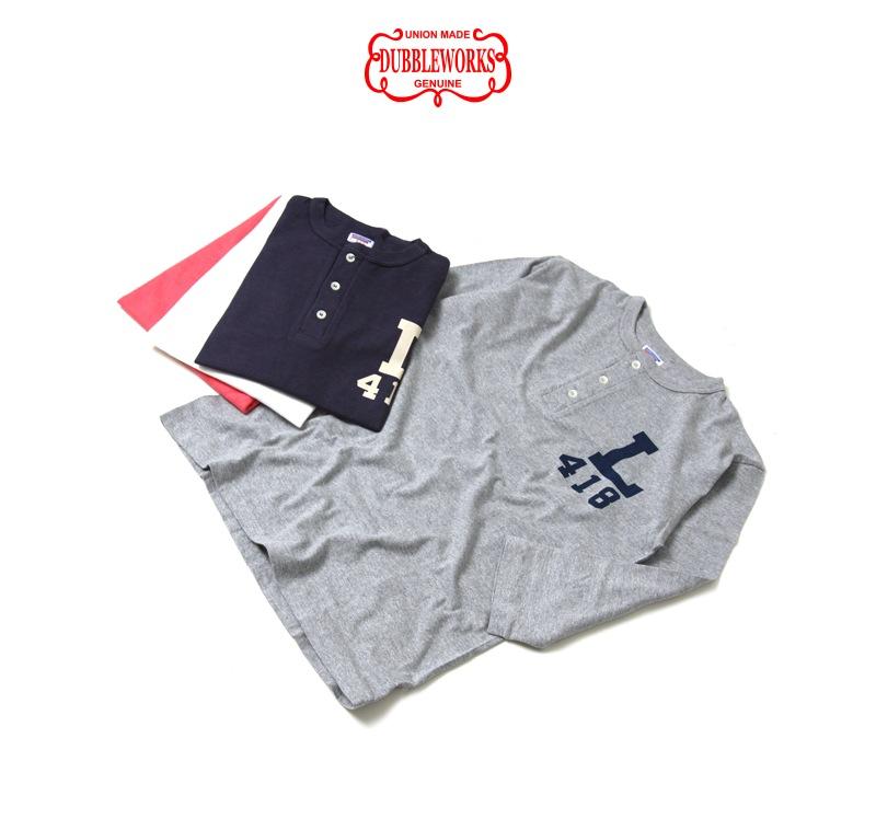 ダブルワークス ヘンリーネック7分袖Tシャツ DUBBLEWORKS 53003 [L418]