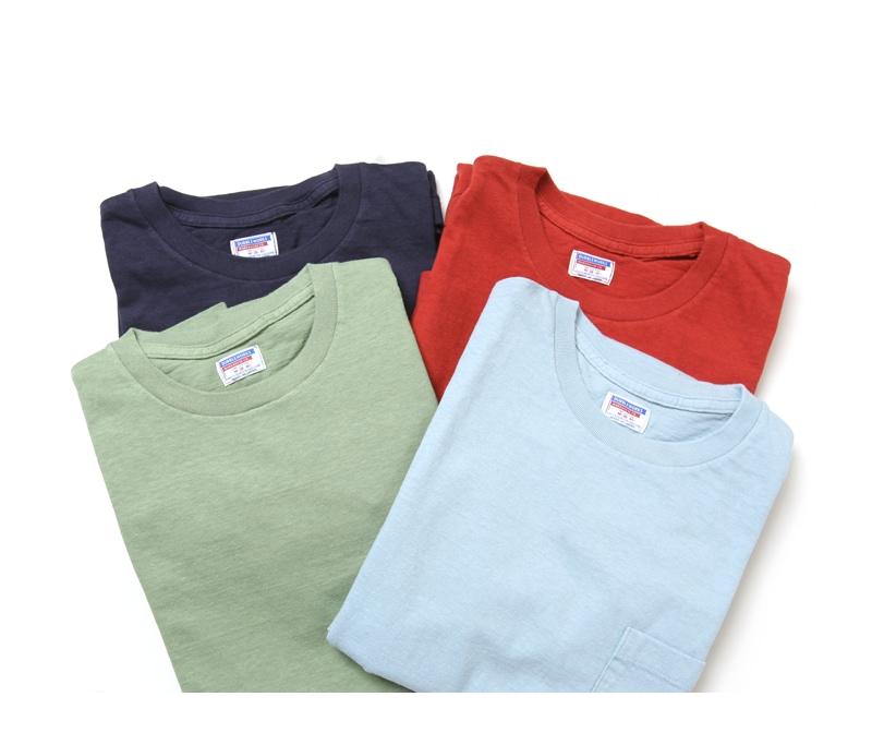 ダブルワークス ポケット付き7分袖Tシャツ 無地 DUBBLEWORKS 53004