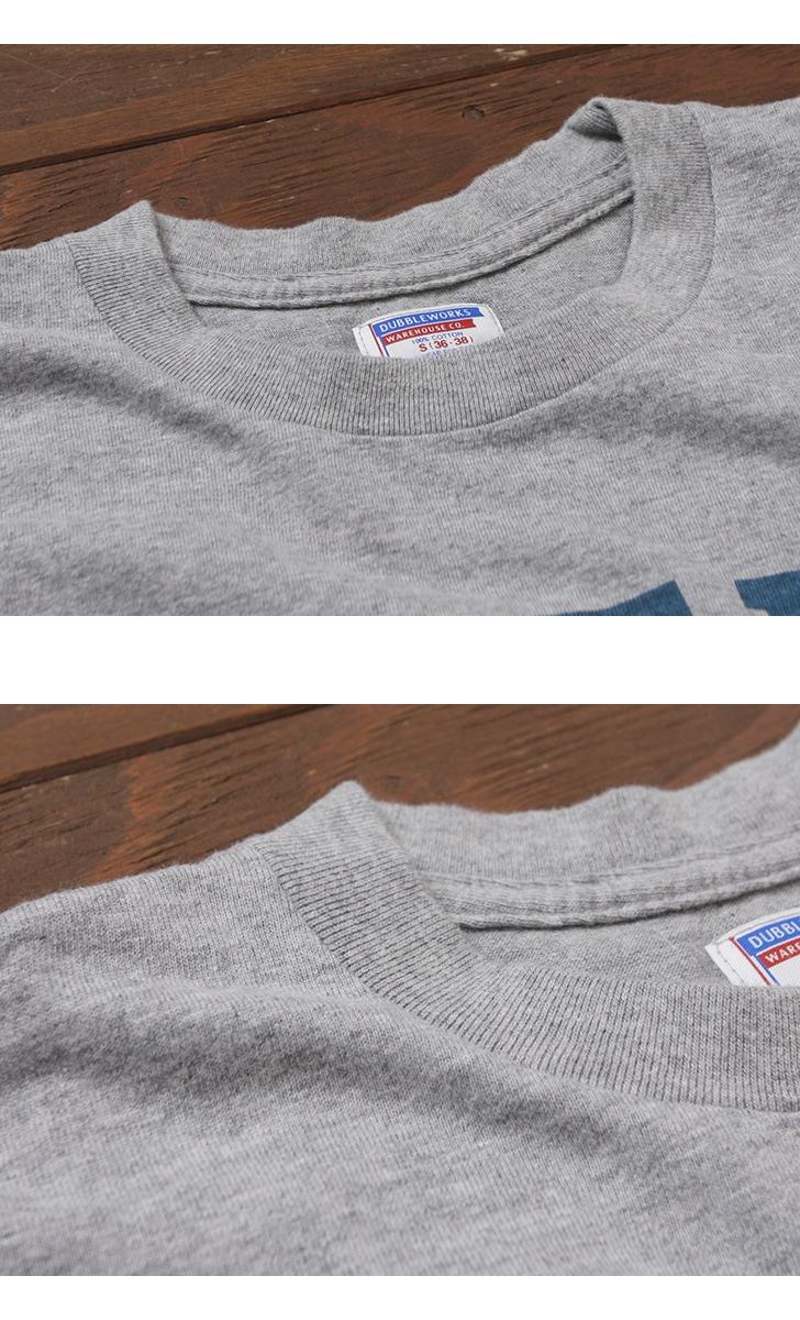 ダブルワークス ポケット付き7分袖プリントTシャツ DUBBLEWORKS 53004