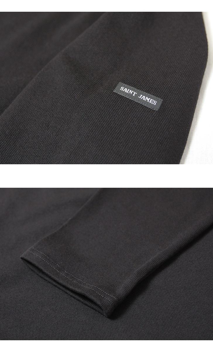 セントジェームス ウェッソン バスクシャツ 長袖 SAINTJAMES OUESSANT 無地 ソリッド レディース メンズ
