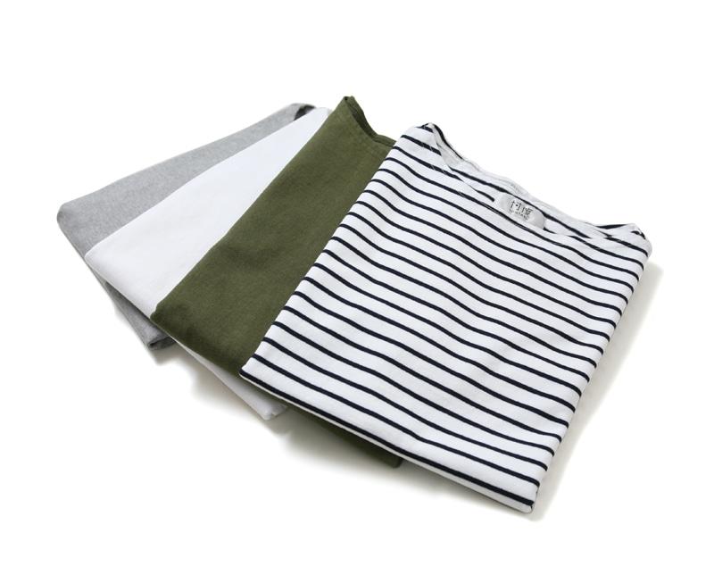 SONTAKU ソンタク 9分袖バスクTシャツ 99151