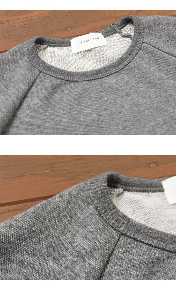 スピナーベイト Spinner Bait ミニ裏毛 7分袖Tシャツ 101MU