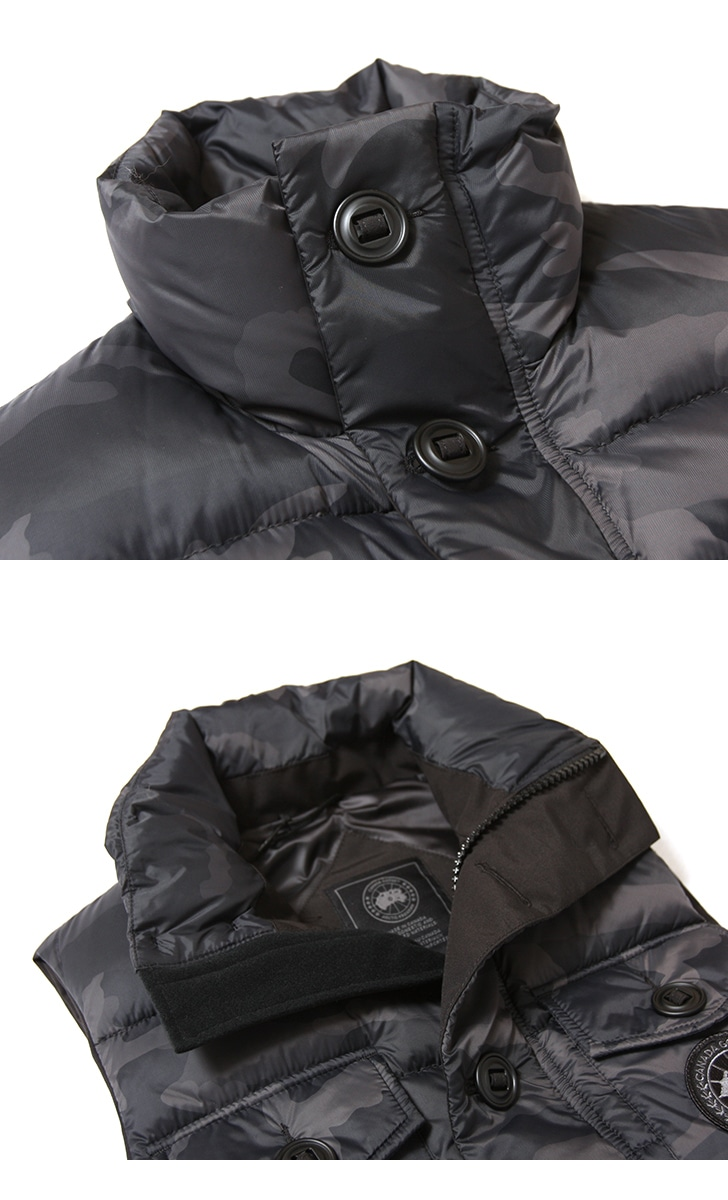 カナダグース ベネディクトベスト ブラックディスク メンズ CANADA GOOSE FREESTYLE VEST BLACK DISK ダウン 日本正規品