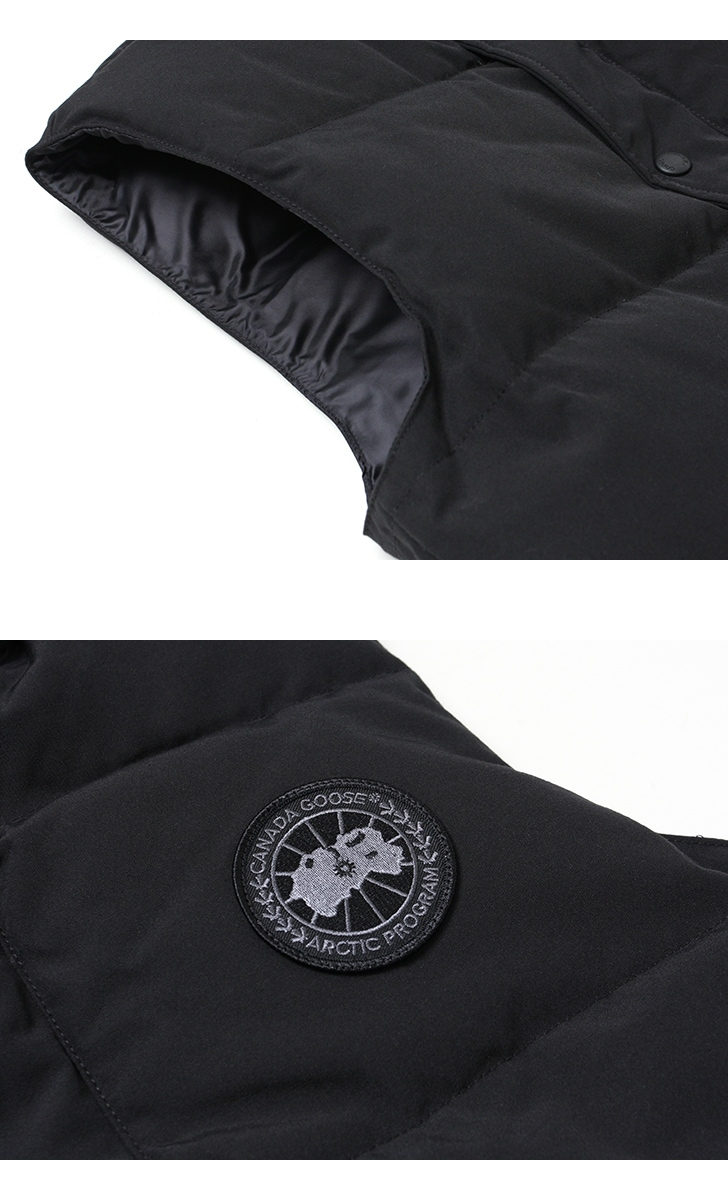 カナダグース フリースタイルクルーベスト ブラックディスク メンズ CANADA GOOSE FREESTYLE CREW VEST BLACK DISK ダウンベスト 日本正規品