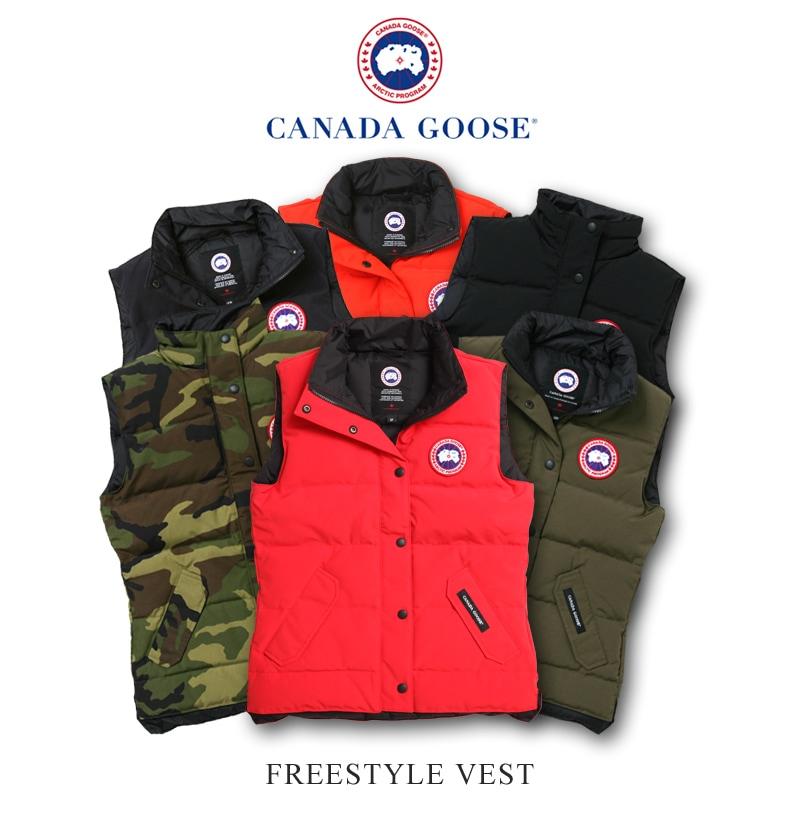 カナダグース フリースタイルベスト レディース CANADA GOOSE FREESTYLE VEST ダウンベスト 日本正規品