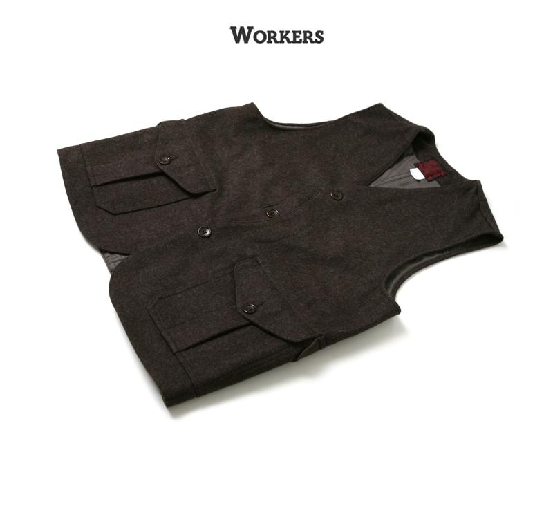 WORKERS ワーカーズ Cruiser Vest クルーザーベスト