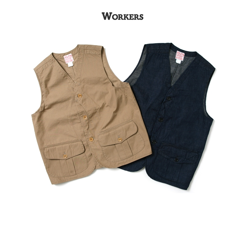 WORKERS ワーカーズ Hunting Vest ハンティングベスト
