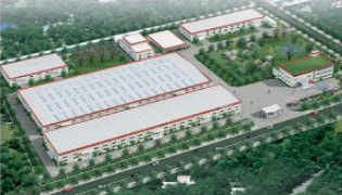 中国にある自社工場