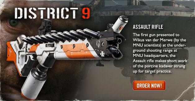 District 9 Rifle Replica