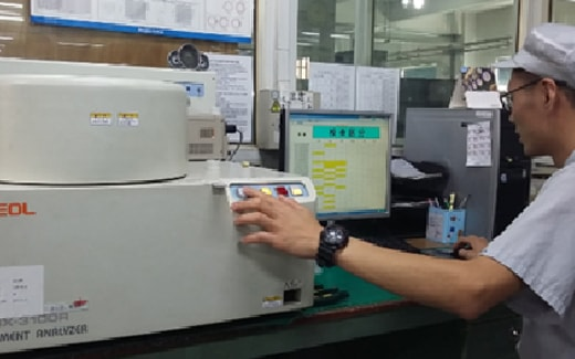 JUKIミシンの分析装置