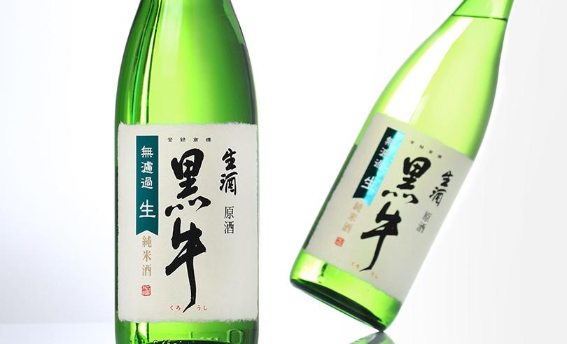 黒牛 純米 生原酒 1.8L