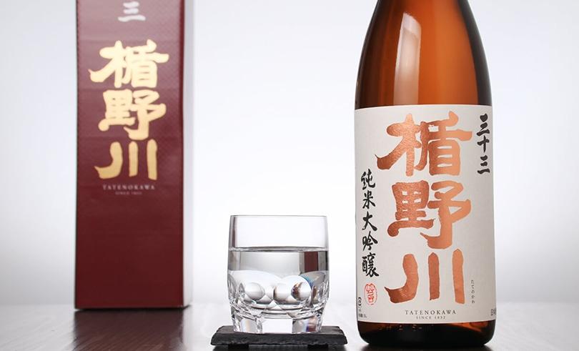 楯野川 純米大吟醸 三十三