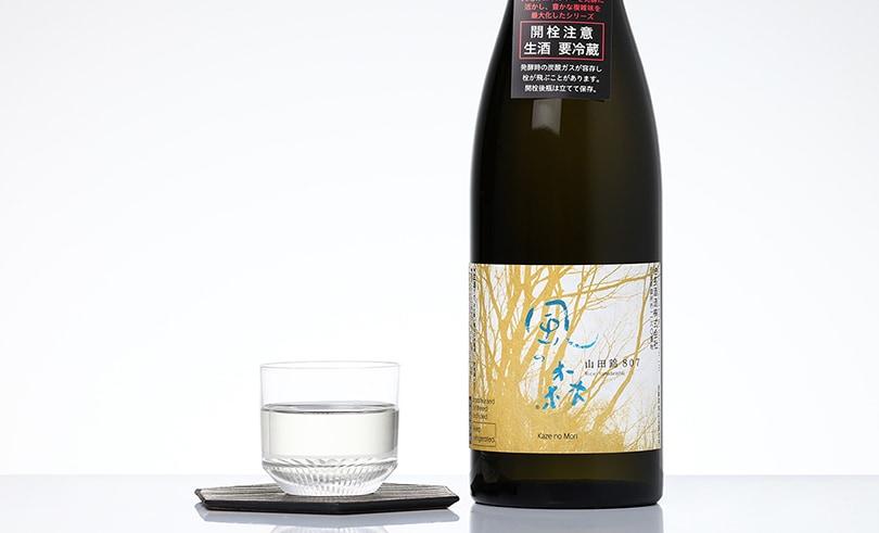 風の森 山田錦 純米酒 しぼり華 720ml