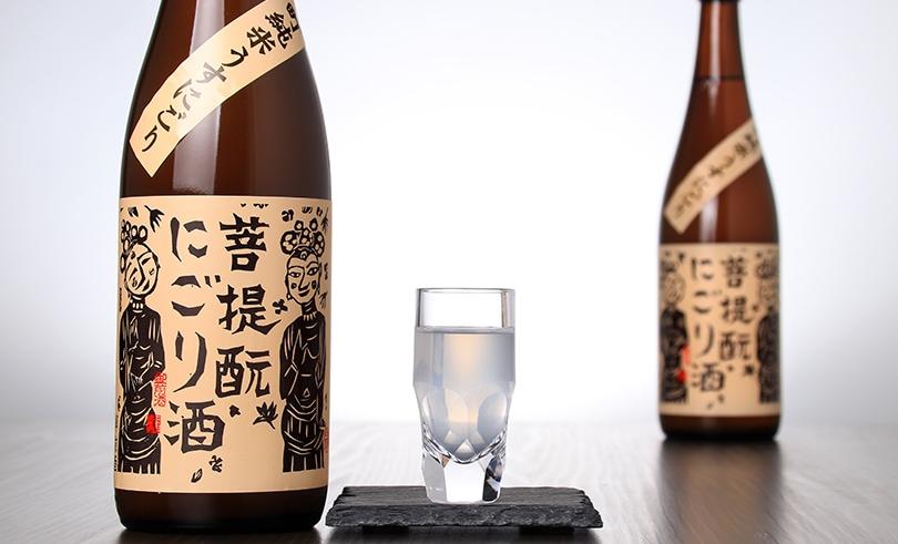 御前酒 菩提もと にごり酒 純米生原酒