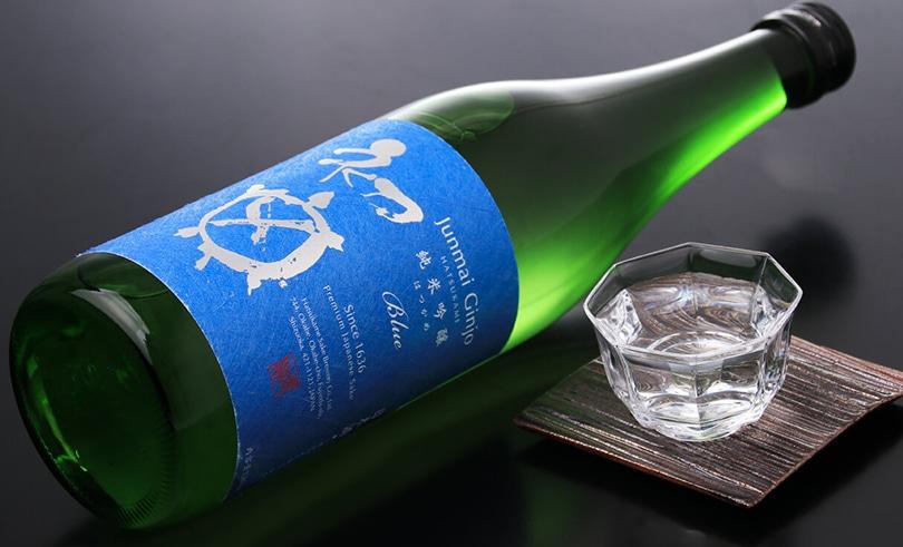 初亀 純米吟醸 Blue