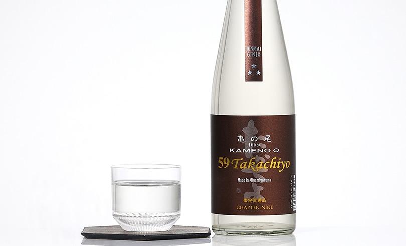 Takachiyo 59(極) 純米吟醸 亀の尾 ブラウン