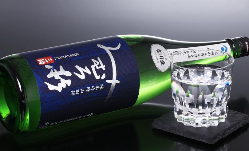 みむろ杉 純米吟醸 吉川産山田錦 火入れ1.8L
