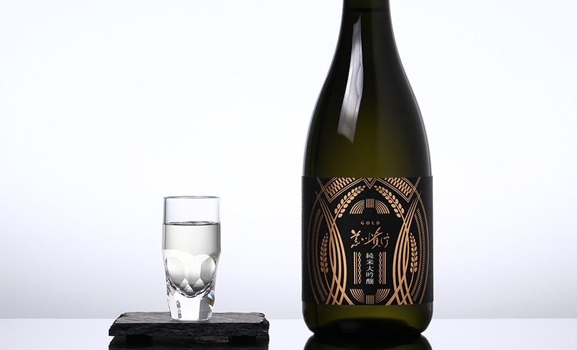 蓬莱泉 純米大吟醸 「GOLD」