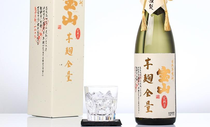 宝山 完熟芋麹全量 (箱入) 1.8L