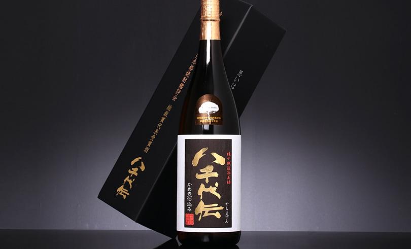 八千代伝 (黒) タンクNo.110 箱入 1.8L