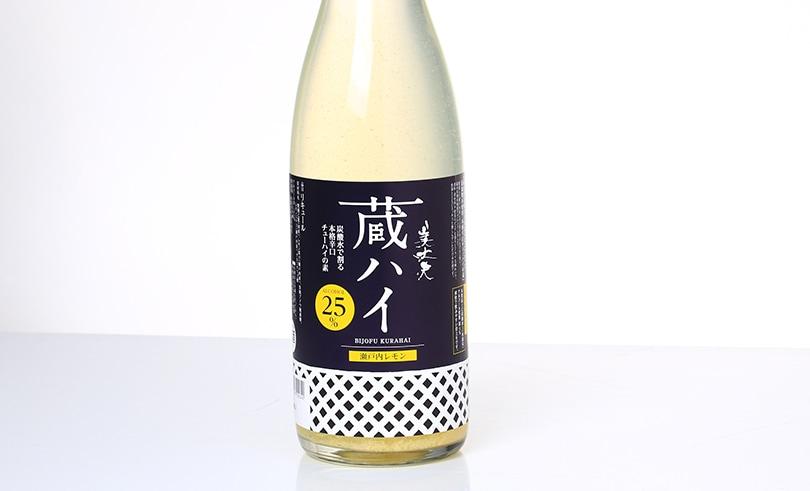 美丈夫 蔵ハイ瀬戸内レモン 1.8L