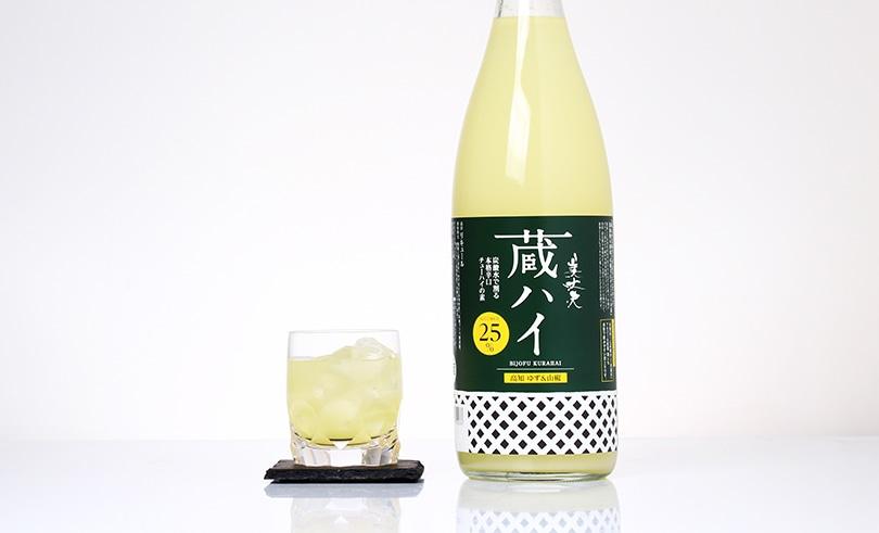美丈夫 蔵ハイ高知柚子・山椒 1.8L