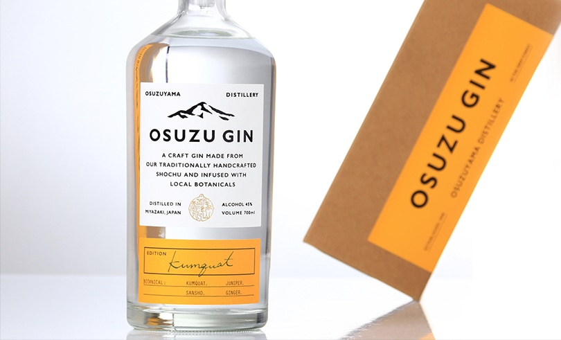 OSUZU GIN Kumquat(金柑) 200ml
