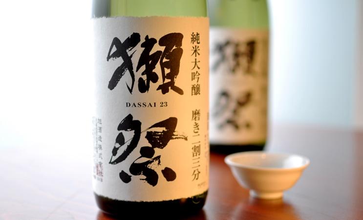 獺祭 純米大吟醸 磨き二割三分 1.8L (箱なし)