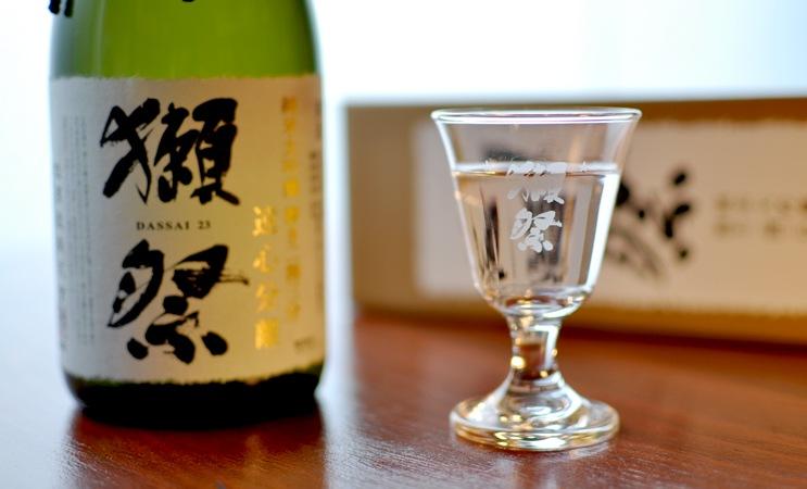 獺祭 純米大吟醸 遠心分離 磨き二割三分 720ml (箱入り)