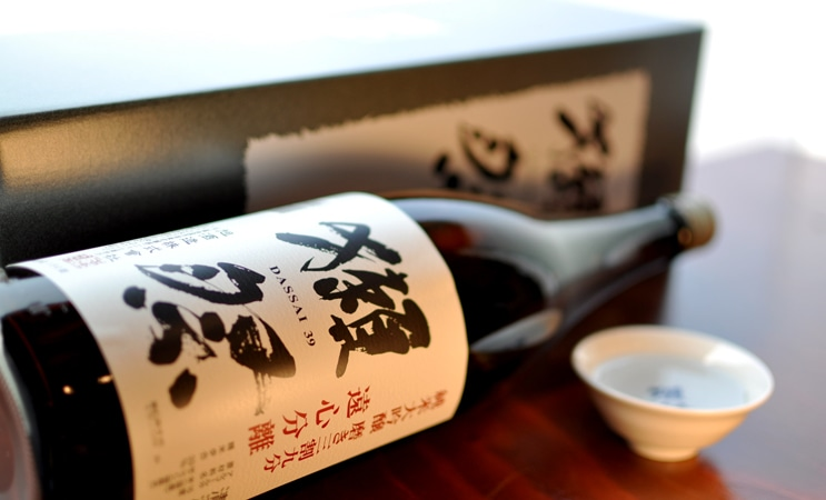 獺祭 純米大吟醸 遠心分離 磨き三割九分 1.8L (箱入り)