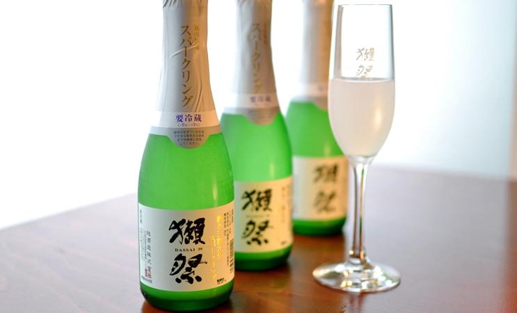 獺祭 発泡にごり酒  磨き三割九分 360ml(箱なし)