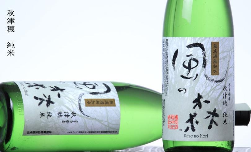 風の森 秋津穂 純米酒 しぼり華 1.8L