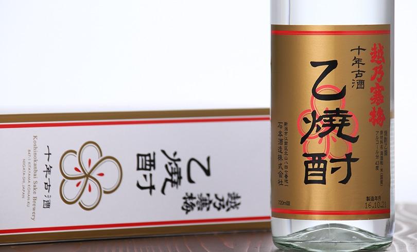 越乃寒梅 10年乙焼酎単式蒸溜焼酎 720ml