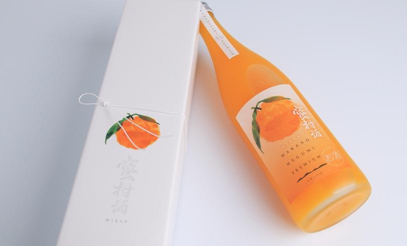 和歌のめぐみプレミアム 蜜柑酒