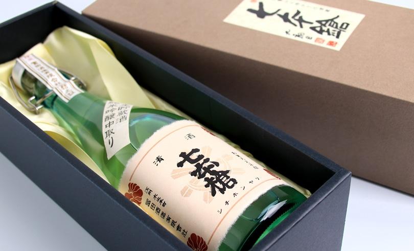 七本鎗 純米吟醸 生貯蔵酒