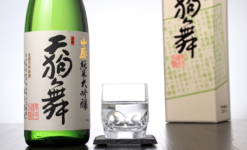 天狗舞 山廃純米大吟醸(箱入) 1.8L