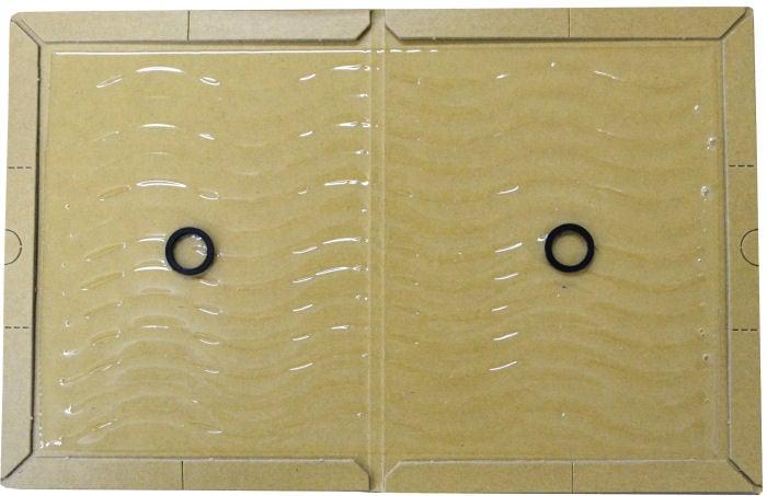 業務用ネズミ捕りEL 粘着剤増量タイプ 100枚×2 ネズミ粘着シート ねずみ駆除・ネズミとりもち