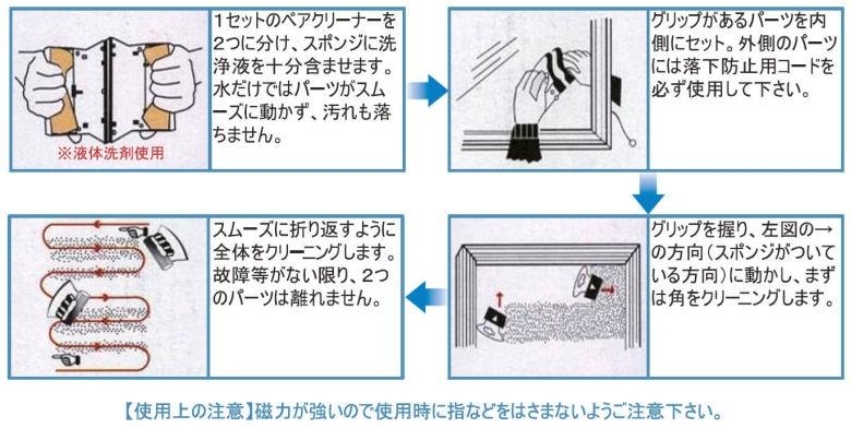 TOWA トーワ ペアクリーナー 強力アップグレード スペアセット