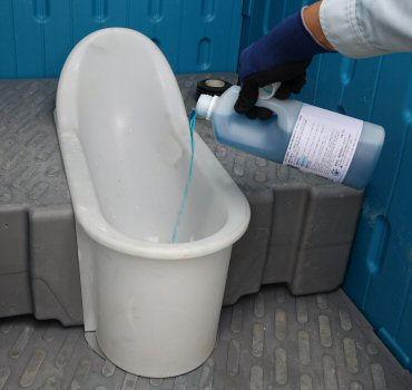 株式会社イーライフ 仮設トイレ用消臭剤 トイレラボ05