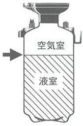 ダイヤスプレー プレッシャー式噴霧器 No.7560 5L用