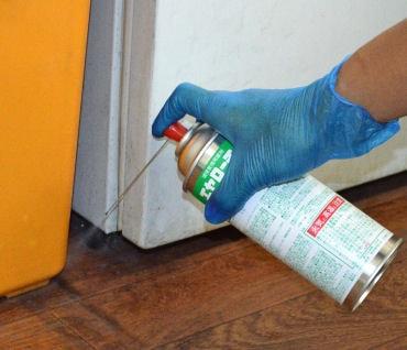 ゴキブリ駆除用即効・持続タイプの殺虫剤エヤローチA 420ml×5本