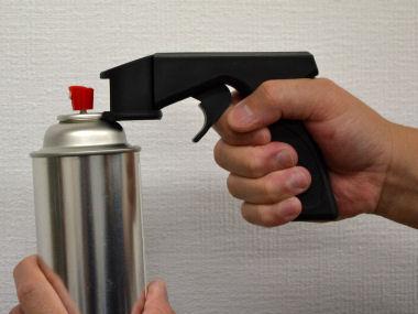 スプレー缶用トリガー