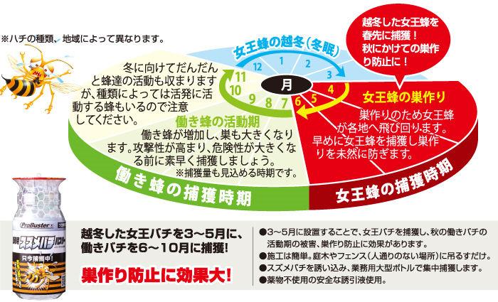株式会社SHIMADA 業務用 スズメバチバスター