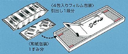 藤澤 和服しょうのう 20包入 せんい製品防虫剤